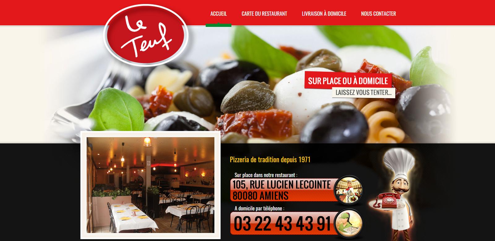 Pizzeria LE TEUF